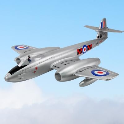 Dynam Gloster Meteor Twin 70mm EDF Jet 4S